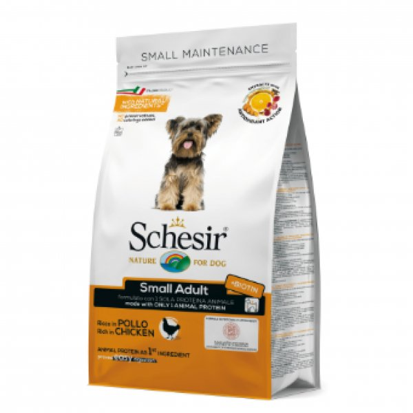 Schesir Small breed ПИЛЕ 2кг