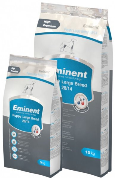 EMINENT PUPPY LARGE BREED 15+2kg и 3kg