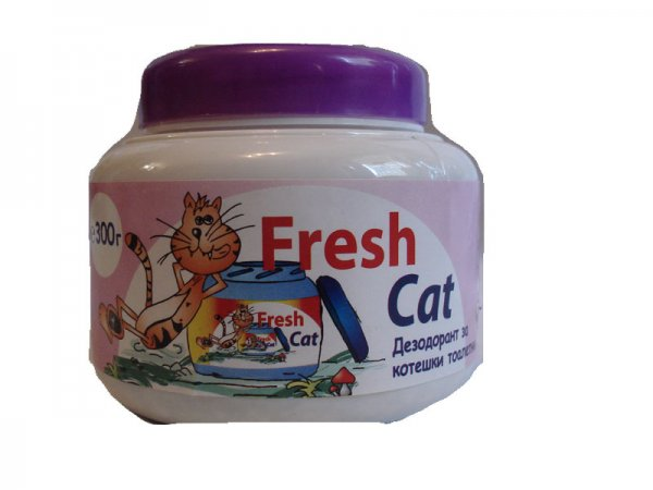 Fresh Cat WC aroma  EXOTIC 300гр