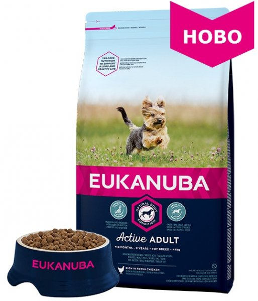 EUKANUBA Adult Toy Breed 2кг