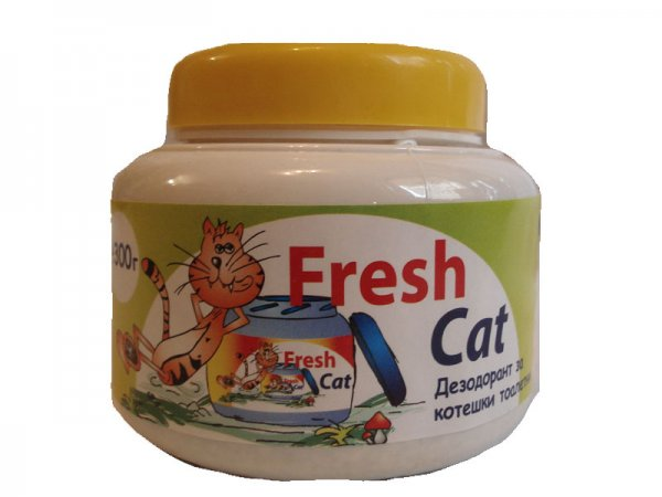 Fresh Cat WC aroma Citrus 300гр