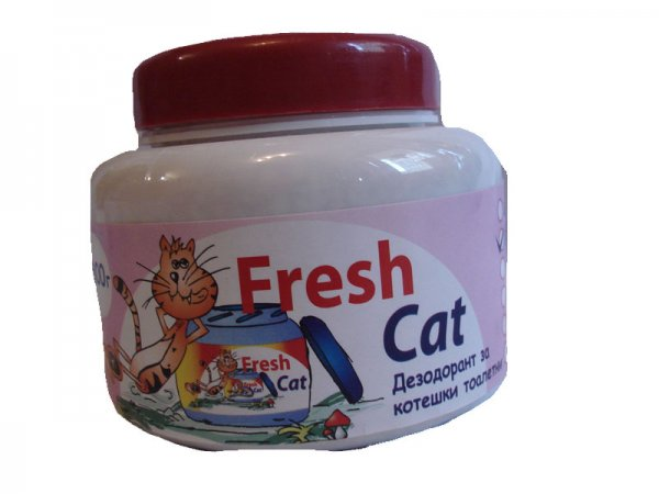 Fresh Cat WC aroma Flowers 300гр