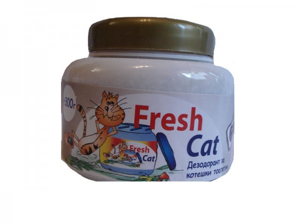 Fresh Cat WC aroma GOLD 300гр