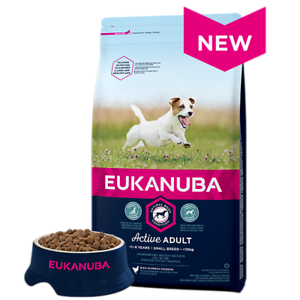 EUKANUBA Active Adult Small breed 3кг