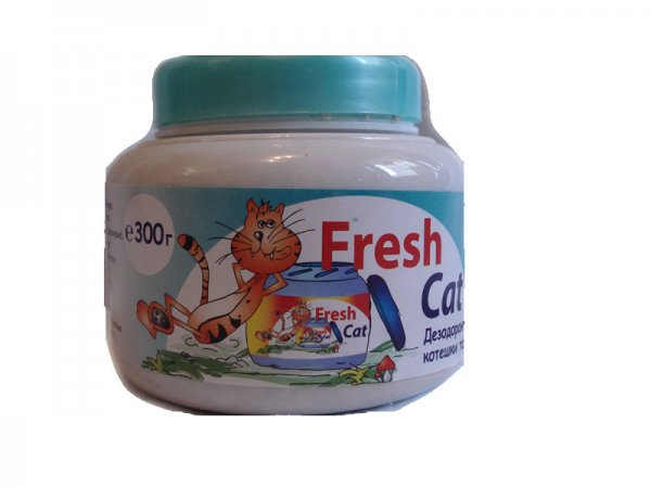 Fresh Cat WC aroma  Sea Breeze 300гр