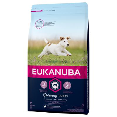 EUKANUBA Growing Puppy Small breed 18кг