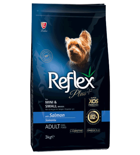 REFLEX PLUS ADULT SMALL Breed 3кг Сьомга