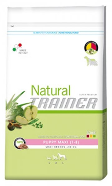 Trainer Natural Puppy Maxi 1-8 месеца